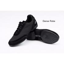 Zapatillas 2x4 Al Pie Modelo Cordoba Lona Negra