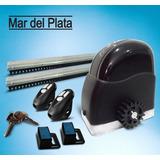 Kit Automatización De Portón Ultra Rápido Mar Del Plata