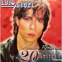 Cd Luis Angel Aventura Romantica 20 Exitos Originales