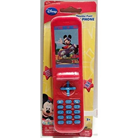 Juguete Disney Mickey Mouse Mouska-fun! Teléfono De Tapa