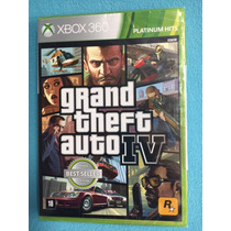 Game - Grand Theft Auto Iv Gta 4- Xbox 360