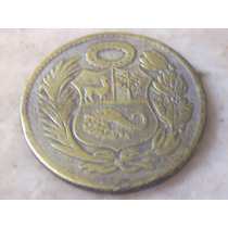 Moneda Un Sol De Oro 1947 Niquelada