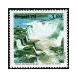 Selo Brasil,turismo/ 1978 Parque Nacional Do Iguaçu.novo.