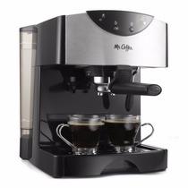 Máquina Para Preparar Café Expreso O Capuchino Cafetera