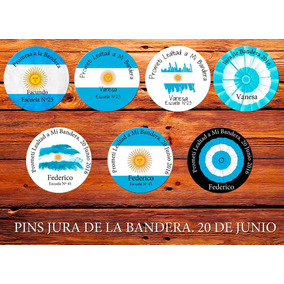 Pin Jura Bandera, Promesa A La Bandera 7,5 Cm