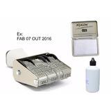 Datador De Embalagens Vários Dizeres + Tinta E Almofada