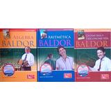 Serie Baldor Álgebra+aritmética+geometría Y Trigonometría+cd