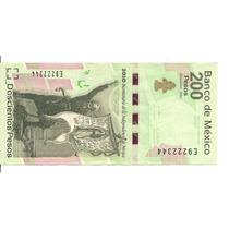 Mexico 200 Pesos Bicentenario De Independencia 2010 Nuevo
