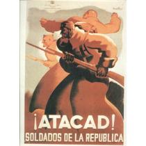 Guerra Civil Española-propaganda Politica-lamina-22 X 28(45)