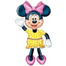 Globo Minnie Mickey Caminante Metalizado Disney Cotillon