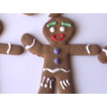 Galletas Decoradas Hombre De Jengibre Navidad Año Nuevo