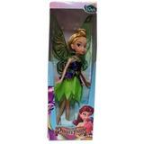 Muñecas Tinkerbell Y Sus Amigas!! Tipo Barbie De Goma.
