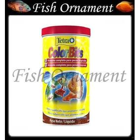 Ração Tetra Colors Bits Granules 75g Fish Ornament