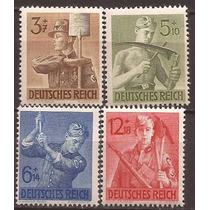 2º Guerra Alemania 1943 Serie Medicos Del Reich Mint Impecab
