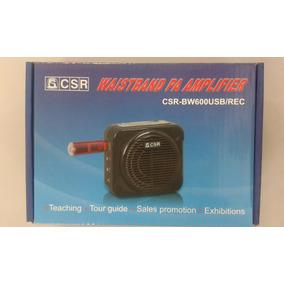 Microfone Para Professor E Palestras Csr-bw600 Usb / Rec