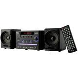 Mini System Com Dvd Multilaser Sp141 20w Rádio Fm Usb
