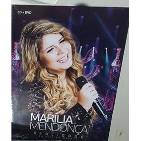 Kit Marilia Mendonça Realidade Cd E Dvd Frete Gratis 8898