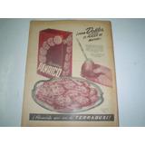 Terrabusi Galletita Panrico Antigua Publicidad 1956