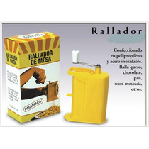 Rallador Manual De Queso Chocolate Pan De Pastafácil