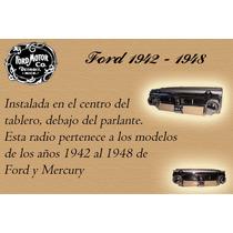 Radio Auto Antiguo Ford 1942 -1948