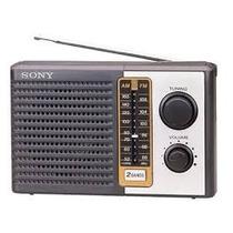 Rádio Analógico Sony Icf-f10 Am/fm 2 Bandas