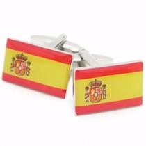 Mancuernillas Bandera De España Football Madre Patria