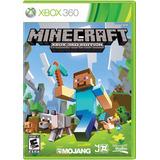 Minecraft Xbox 360 Edition Português Mídia Física Lacrado