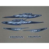 Kit Adesivos Honda Cg Titan 125 Kse 2003 Prata
