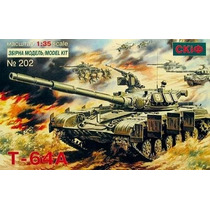 Tanque Russo T-64a - Skif