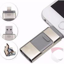 Memoria Usb 16gb Para Iphone Ipod Ipad Pc Y Android 3 En 1