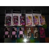 Forros Dobles Plastico Y Goma Blackberry Perla 8100 8110