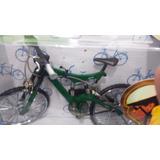 Miniatura Bicicleta Track Moutain Verde Bike Mini