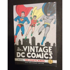 The Art Of Vintage Dc Comics - Postcards - 75th Anniversary