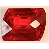 Rsp 2572 Topázio Vermelho 20x15,2 Com 32,1 Ct