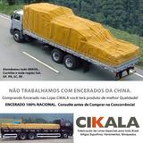 Encerado Lona 6x3 Mt Caminhão Algodão Impermeavel Resistente