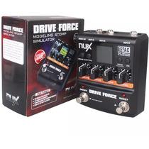 Pedal Nux Drive Force - Distorção E Overdrive