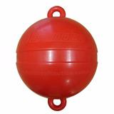 Bóia De Arinque - Poita Para Barcos - Vermelha 40cm