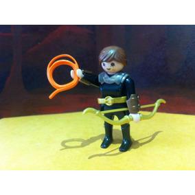 Playmobil Arquera Medieval Caballeros Rey Castillos Js B