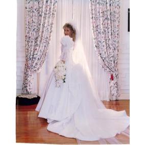Vestido De Novia Bordado Alta Costura Diseñado Por Iara