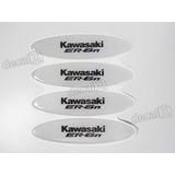 Adesivos Capacete Kawasaki Er-6n Resinados Refletivo Rs20