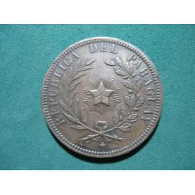 Moneda 4 Centesimos, 1870, Paraguay Km# 4.1