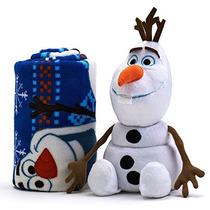Disney Congelado A Olaf 2-pc. Almohada & Felpa Lanzar Juego