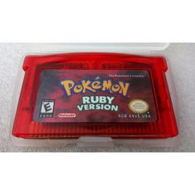 Jogo Pokemon Ruby Cartucho Gameboy Advance Gba Novo