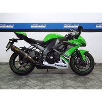 Kawasaki Ninja Zx 10r 2010 Verde Com Scap Full - Motoscom