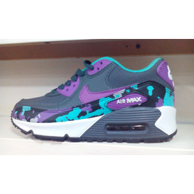 Zapatos Deportivos Damas Air Max Moteados