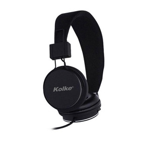 Fone De Ouvido C/ Microfone Kolke Ka-101 Preto Plug Unico
