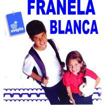 Franelas Blancas Ovejita