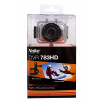 Câmera Filmadora Ação Hd Com Acessório Vivitar Dvr783hd