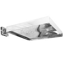 Chuveiro Ducha Em Aço Inox Para Piscina 25cm Quadrado