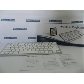 Teclado Bluetooth Padrão Apple, P/ Ipad Ipod Android Samsung